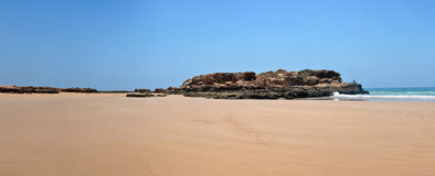 Taghazout beach Royalty Free Stock Photography