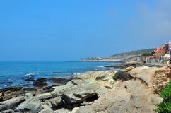 Taghazout beach Royalty Free Stock Photos