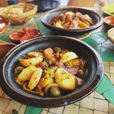 Tagine Photographie stock