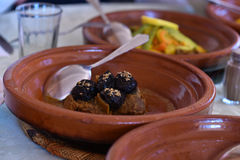 Tagine food Stock Photography