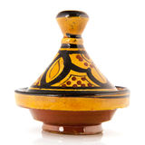 Tagine isolated over white background Royalty Free Stock Images