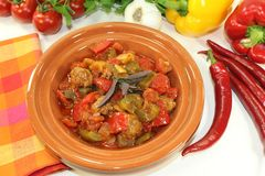 Tagine Kefta Royalty Free Stock Photos