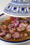 Tagine with onion Stock Photography