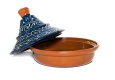 Tagine or tajine to make food Royalty Free Stock Image