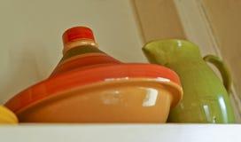 Tagine y jarro de la jarra Fotos de archivo