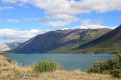 Tagish Lake, Carcross, Yukon, Canada royalty free stock photo