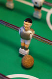 Tagle football figure. Table footall figure with the ball Stock Images