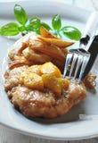 Tagli del pollo Immagine Stock