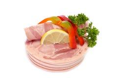 Tagli della carne fredda Immagini Stock Libere da Diritti