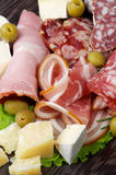Tagli freddi delle specialità gastronomiche Immagine Stock Libera da Diritti