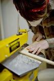 Tagli i pezzi di legno Fotografia Stock Libera da Diritti