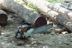 Tagli il legno con il puzzle in officina Fotografia Stock