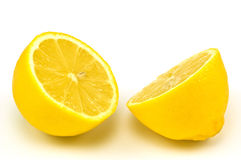 Tagli il limone Fotografie Stock Libere da Diritti