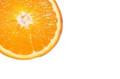 Tagli l'arancio Fotografia Stock Libera da Diritti