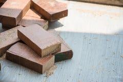 Tagli l'assicella di legno naturale immagine stock