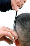 Tagli l'uomo dei capelli Immagine Stock Libera da Diritti