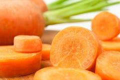 Tagli la carota Immagini Stock Libere da Diritti