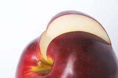 Tagli la fetta di mela Immagine Stock Libera da Diritti