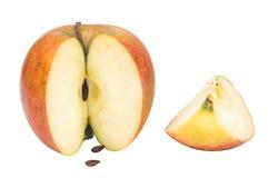 Tagli la mela Immagini Stock