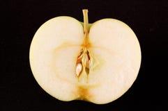 Tagli la mela verde immagine stock libera da diritti