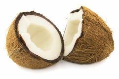 Tagli la noce di cocco Immagini Stock Libere da Diritti