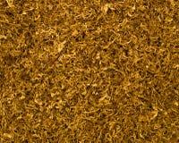 Tagli la priorità bassa del tabacco Fotografia Stock