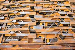 Tagli la struttura d'acciaio Immagini Stock Libere da Diritti