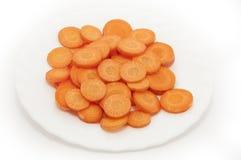 Tagli le carote fresche fotografia stock libera da diritti