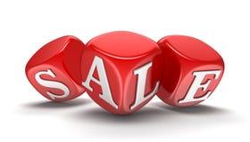 Taglia con la vendita (percorso di ritaglio incluso) Immagini Stock Libere da Diritti