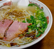 Tagliatella cinese a Namba, Osaka, Giappone Fotografia Stock Libera da Diritti