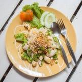 Tagliatella del pollo Fotografia Stock