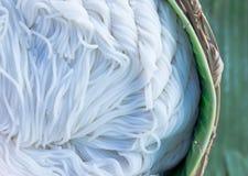 Tagliatella di riso tailandese Immagine Stock