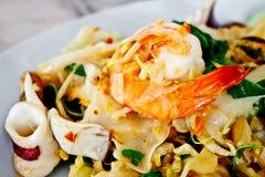 Tagliatella fritta piccante tailandese 5 Fotografia Stock