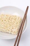 Tagliatella secca cinese Fotografia Stock