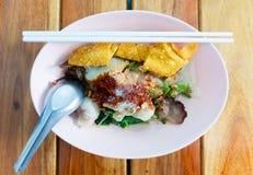 Tagliatella tailandese Fotografie Stock