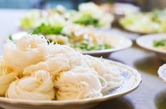 Tagliatella tailandese Fotografia Stock
