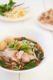 Tagliatella tailandese Fotografia Stock Libera da Diritti