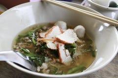 Tagliatella tailandese Immagine Stock