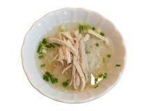 Tagliatella tailandese di stile, minestra fotografie stock libere da diritti