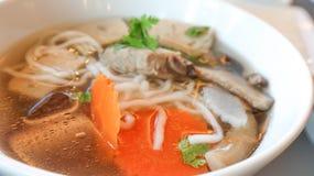 Tagliatella vietnamita con la verdura Immagini Stock