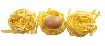 Tagliatelle all& x27; uovo 库存图片