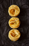 Tagliatelle. Royalty Free Stock Photo