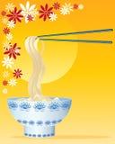 Tagliatelle cinesi Royalty Illustrazione gratis