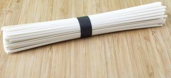 Tagliatelle del grano del Udon Immagine Stock