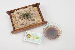 Tagliatelle del grano saraceno Fotografia Stock Libera da Diritti