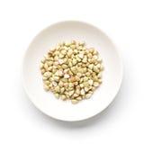 Tagliatelle del grano saraceno Immagini Stock