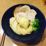 Tagliatelle del Udon Fotografia Stock