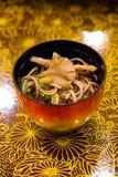 Tagliatelle di Ramen giapponesi tradizionali Immagine Stock