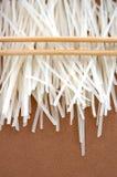 Tagliatelle di riso Fotografia Stock