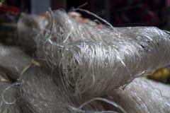 Tagliatelle di riso a Lao Cai, Vietnam fotografia stock libera da diritti